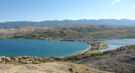 Island of Pag Croatia